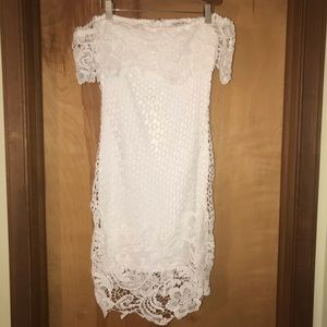 Charlotte Russe Off The Shoulder Dress